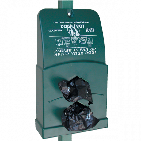 DogipotJunior Bag Dispenser, Polythene-Pet Waste Containers