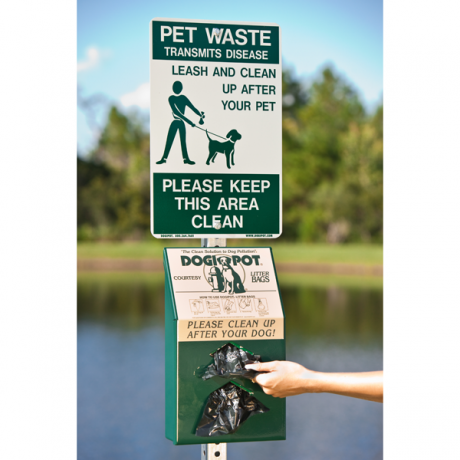DogipotAluminum Pet Station-Pet Waste Containers