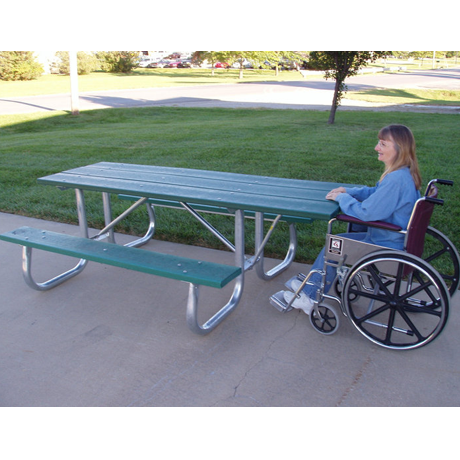Bessemer Style ADA Accessible with Resinwood Top-P
