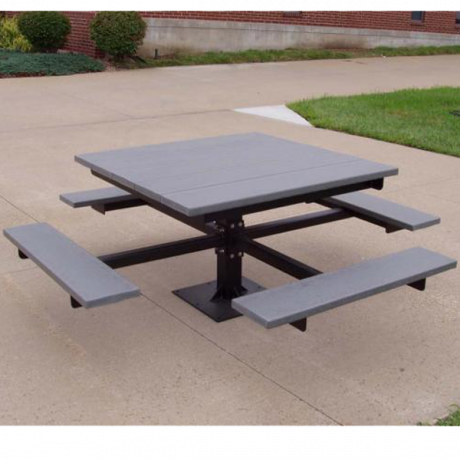 T-Table-Recycled Plastic Picnic Tables