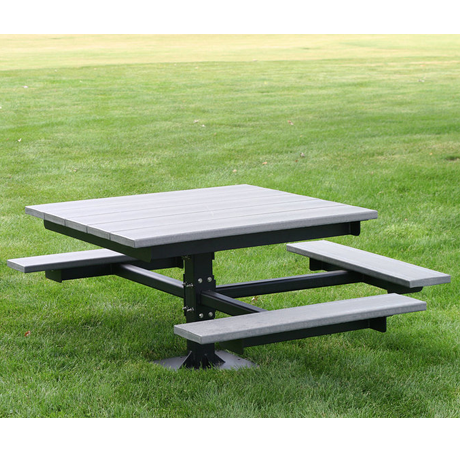ADA T-Table, Wheelchair Accessible-Picnic Tables