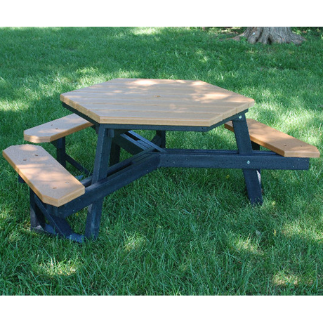 Hexagonal Style ADA Accessible with Resinwood Top-