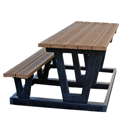 Plastic Picnic Table : Recycled Plastic Picnic Tables  Earn LEED Points  Buy Green and Save ...