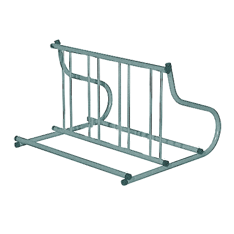 Armstrong Bike Rack - Galvanized-Bike Racks