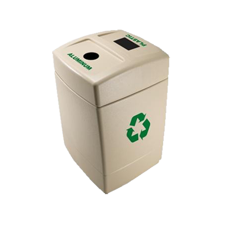 Recycle55 For Plastic/Aluminum-Ash Receptacles