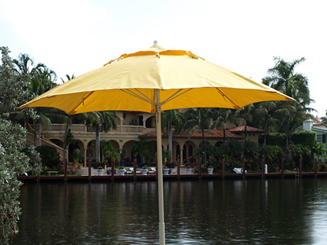 Fiberlite market umbrella, made in the U.S.A.