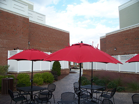 Market umbrellas best made in the USA