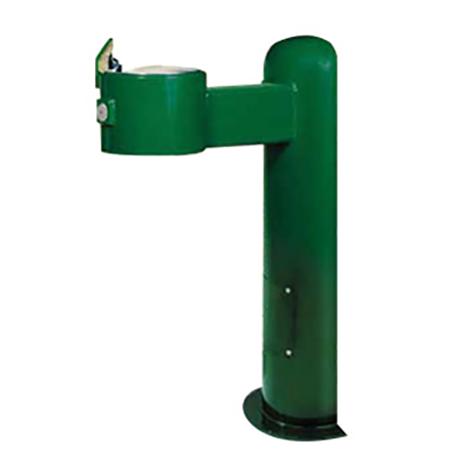 Wall Mount Pedestal Heavy Steel Drinking Fountain with Frost Proof Valve System
