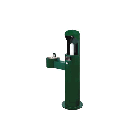 Metal Pedestal Water Bottle Filler Station with Drinking Fountain