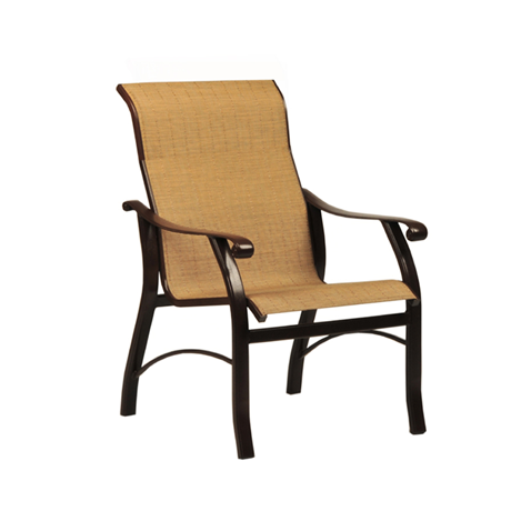 Sterling Sling Low Back Dining Chair