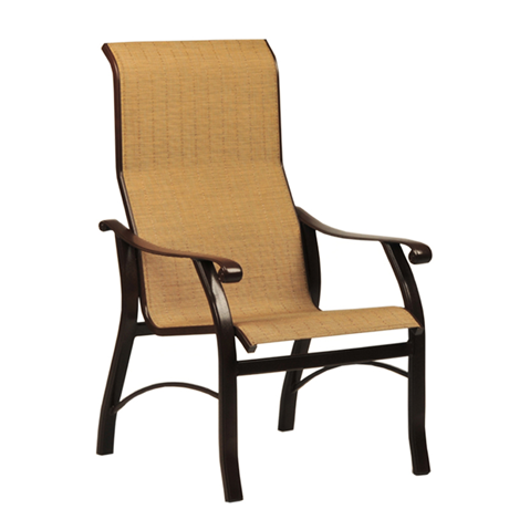 Sterling Sling High Back Dining Chair