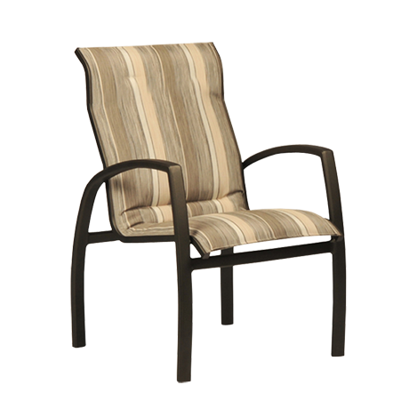 Brooklyn Sling Stackable Low Back Dining Chair