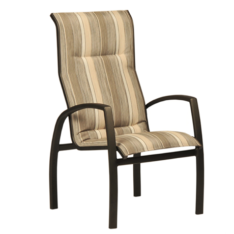 Brooklyn Sling Stackable High Back Dining Chair