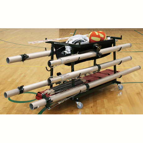 Volleyball Equipment Storage Cart-Accessories