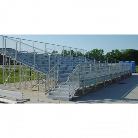 10 Row Elevated Bleachers (w/o Handicap Seating)-