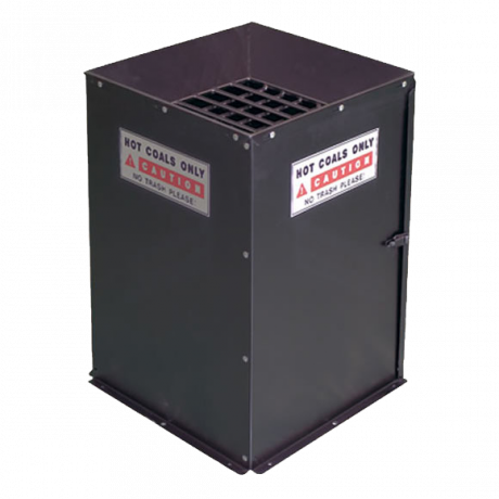 Hot Coal Bin-Receptacles