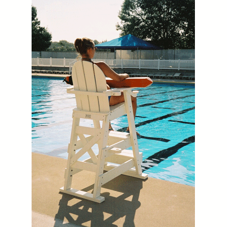 lifeguard chair with front chairs