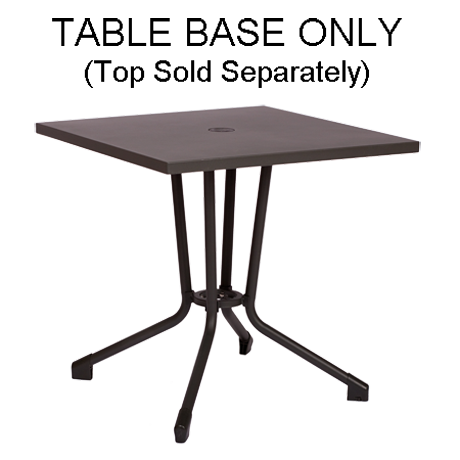 Celino All-Weather Table Base, Anthracite Finish
