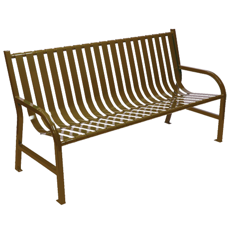 Slat Bench with Back-Benches and Glider Benches