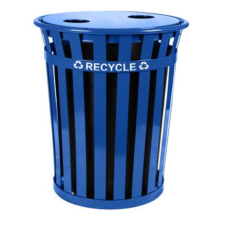 Oakley Recycling Receptacle-Receptacles