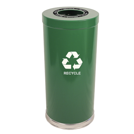 "Emoti-Can 18"" Diameter Recycling Container"