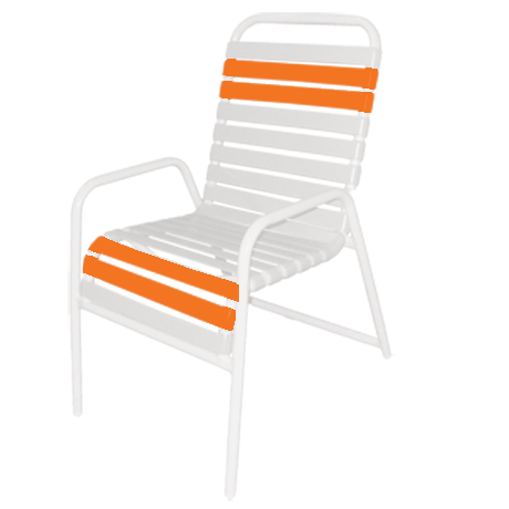 Relax Strap Dining Chair-Chairs and Glider Chairs