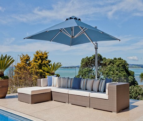 Eclipse Series 10' Square Cantilever Umbrella