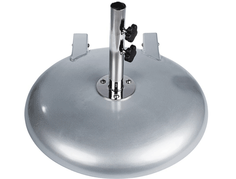 Premium Aluminum Shell Umbrella Base with Wheels