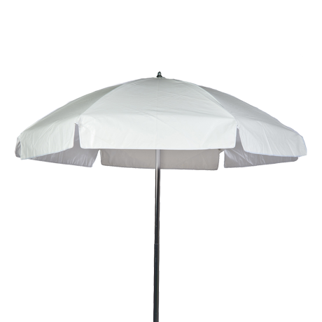 6.5 Ft. Fabric Beach Umbrella with Steel Ribs and no tilt