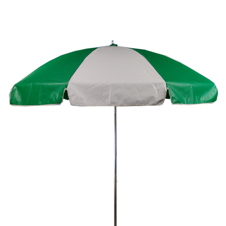 Beach Umbrella - 6-1/2 ft vinyl top with manual lift and no tilt