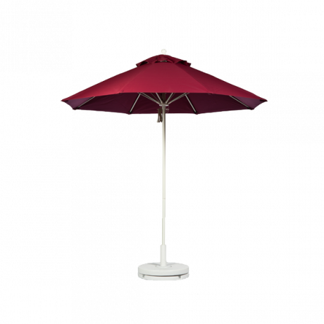 Monterey Collection Octagon Fiberglass Market Umbrella