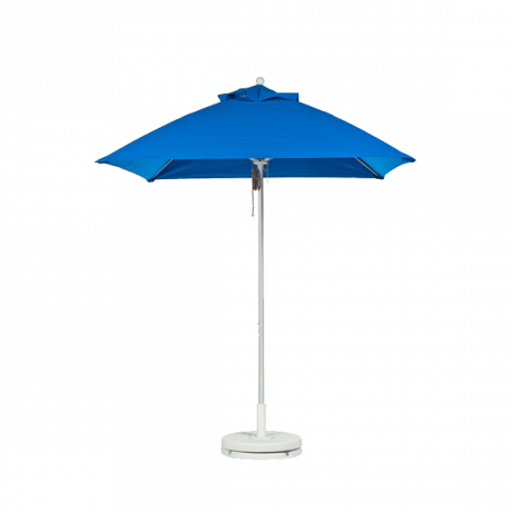 Monterey Collection Square Fiberglass Market Umbrella