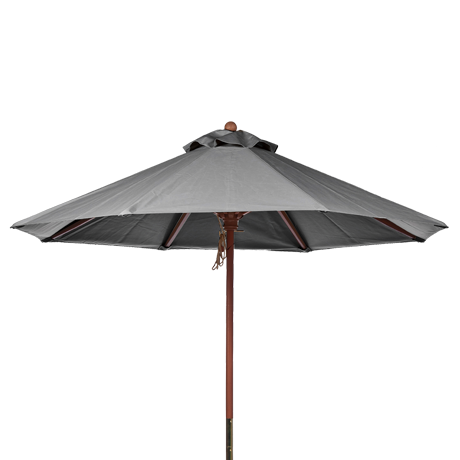 Wooden Market Umbrella-Umbrellas
