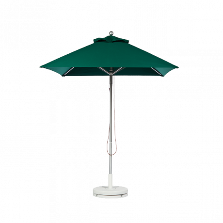 Greenwich Series Square Aluminum Market Umbrella