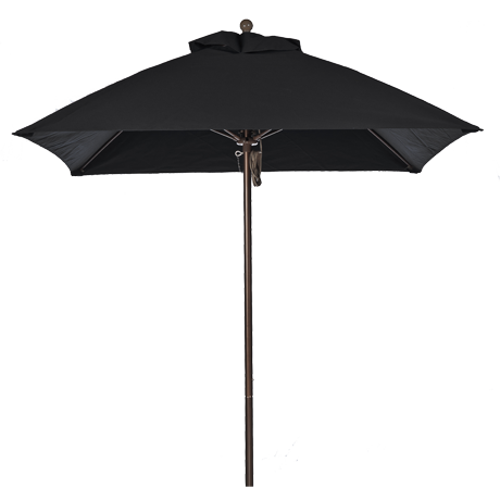 Monterey Collection 6.5' Square Fiberglass Market Umbrella