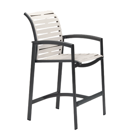 Elance Segment Stationary Bar Stool