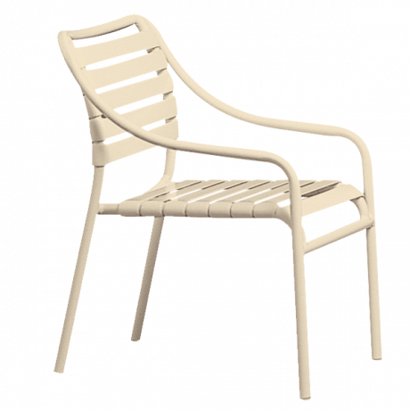 Tropitone Kahana Strap Club Chair-