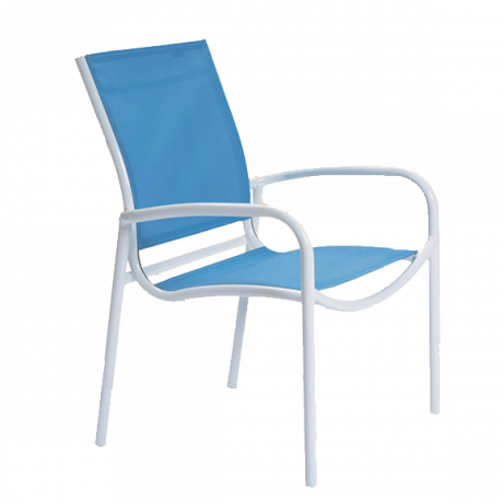 Tropitone Millenia Relaxed Sling Dining Chair-Chairs and Glider Chairs