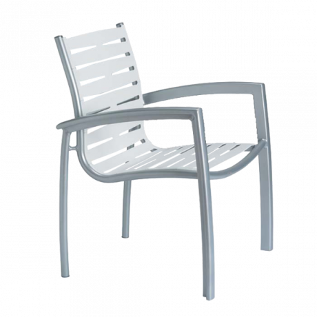 Tropitone South Beach EZ Span Ribbon Segment Dining Chair-Chairs and Glider Chairs