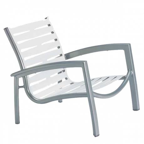 Tropitone South Beach EZ Span Ribbon Segment Spa Chair-Chairs and Glider Chairs
