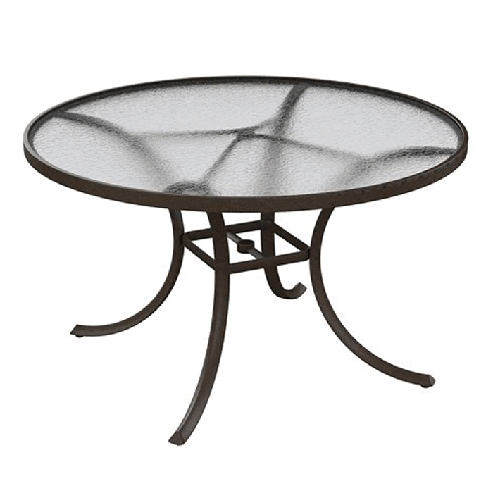 """Acrylic 48"""" Round Dining Table"""