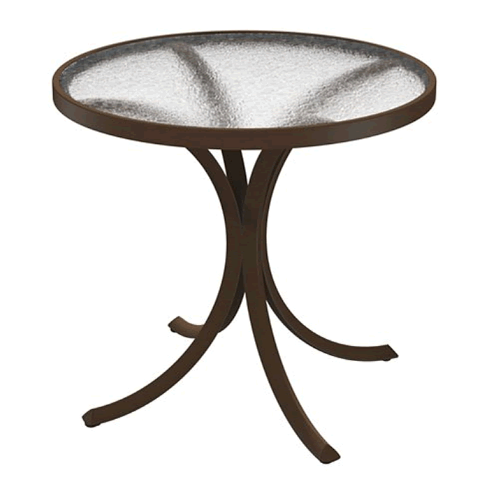 """Acrylic 30"""" Round Dining Table"""