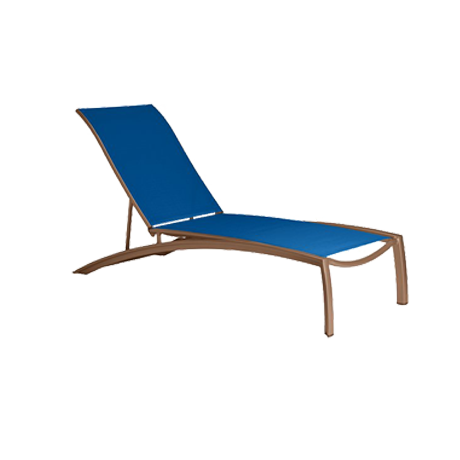 South Beach Relaxed Sling Chaise Lounge