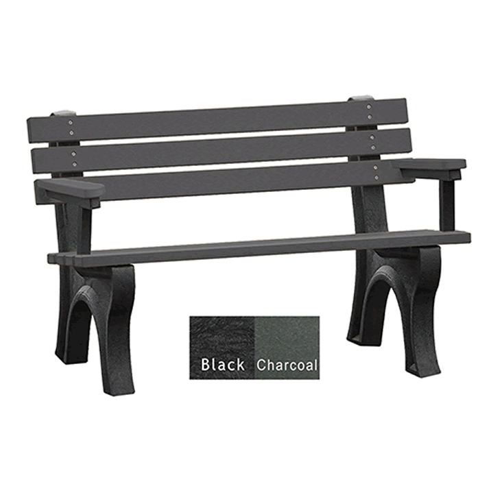 Economizer Backed Bench with Arms