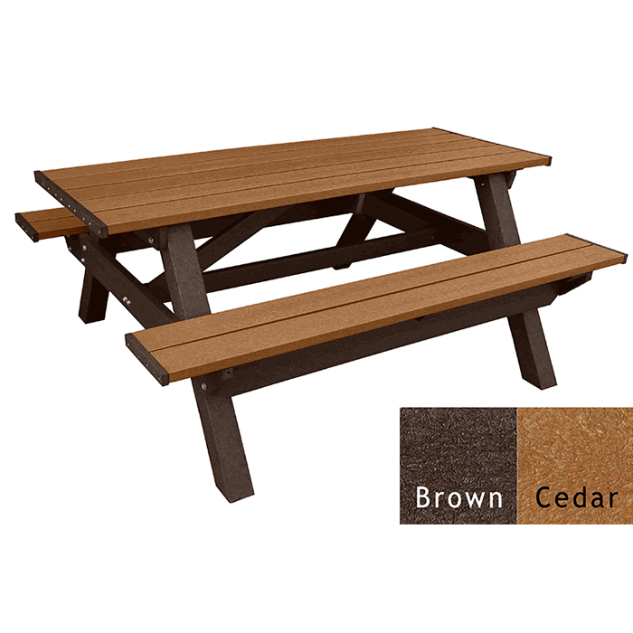 Deluxe Rectangle Picnic Table