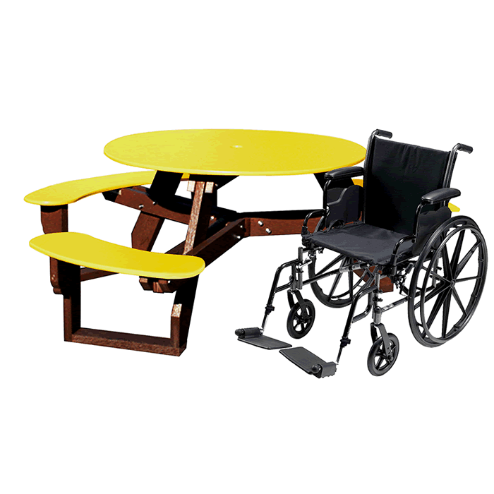 Open Round Universal Access Table