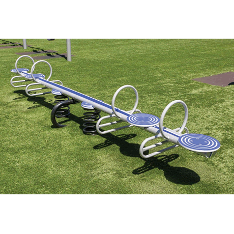 Four Seater Spring See-Saw
