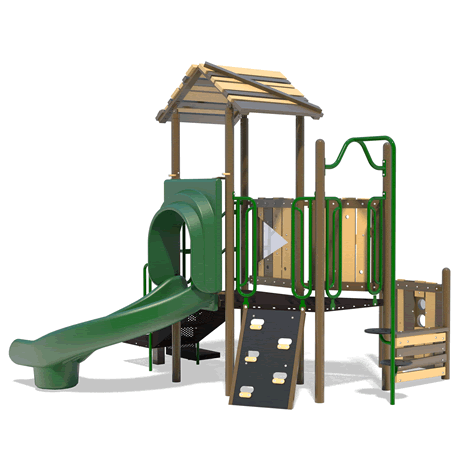 PlayFit Fortress Preschool Playground