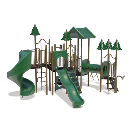 PlayFit Pines School Age Playground