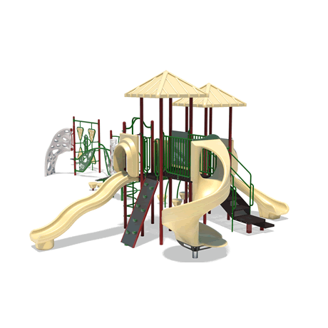 PlayFit Bubbler School Age Playground
